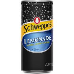 Schweppes Lemonade 200ml Bottle Pack of 24