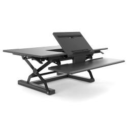 SYLEX FEHARISEGR91BKSit/Stand Desk STRAIGHT ERGOLATORBlack