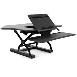 SYLEX FEHARISEGC91BKSit/Stand Desk CORNER ERGOLATORBlack