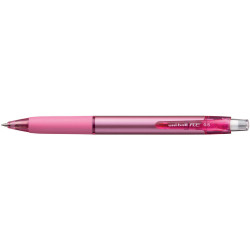 Uni-Ball URN180 RE Erasable Gel Rollerball Pen Retractable Fine 0.5mm Coral Pink