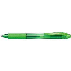 Pentel Bl107 Energel X Gel Pen Retractable Fine 0.7mm Lime Green