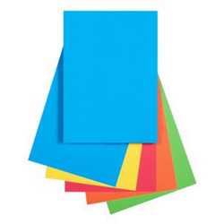 Quill Colour Copy Paper A4 80gsm Brights Assorted Pack of 250