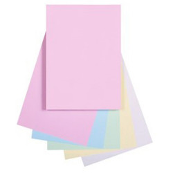 Quill Colour Copy Paper A4 80gsm Pastel Assorted Pack of 250