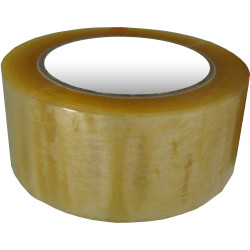 Fromm Packaging Tape Rubber Adhesive 48mmx75m Clear