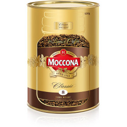 MOCCONA COFFEE CLASSIC DARK 500gm Can
