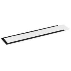 Durable Magnetic C-Profile Strips 40x200mm Charcoal Pack of 5