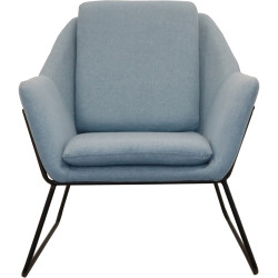 Rapidline Cardinal Chair 755Wx800Dx870mmH Light Blue