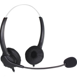 SHINTARO STEREO HEADSET USB WITH NOISE CANCELLING MICROPHONE Black