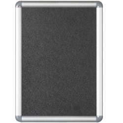 Visionchart OPW Noticecase Snap Frame A4 Silver