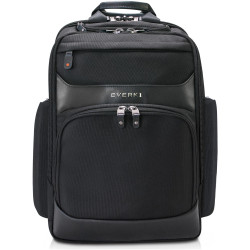 Everki 15.6 Inch Onyx Premium Travel Friendly Backpack Black