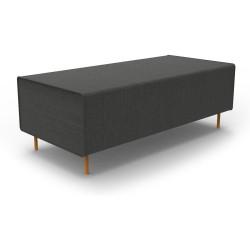 Flexi Modular Lounge System Return Seat Module Charcoal Ash