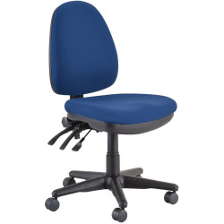 Buro Verve High Back Task Chair No Arms Navy