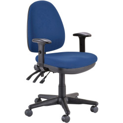 Buro Verve High Back Task Chair With Arms Navy