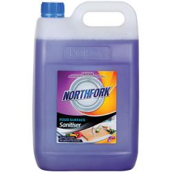 Northfork Food Surface Sanitiser Spray 5 Litres
