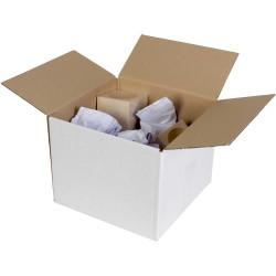 Cumberland Shipping Box 300mm x 300mm x 300mm White