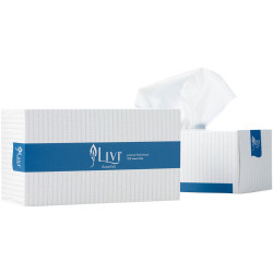 Livi Essentials Facial Tissues Hypoallergenic 2 Ply 200 Sheets