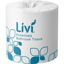 Livi Essentials Toilet Paper Rolls 2 ply 400 Sheets Box of 48