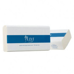 Livi Essentials Hand Towel Extra Large 1 Ply 100 Sheets Carton of 24