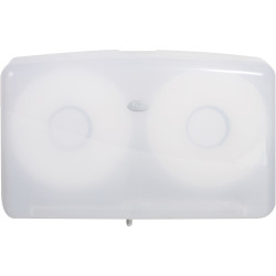 Livi Double Jumbo Roll Toilet Tissue Dispenser