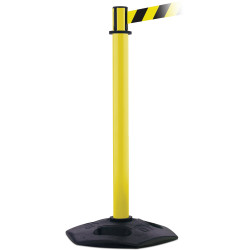 Trafalgar Retracta-Belt Barrier with Black/Yellow Tape 1000mmHx100mmW