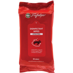 Trafalgar Disinfectant Surface Wipes Pack of 60