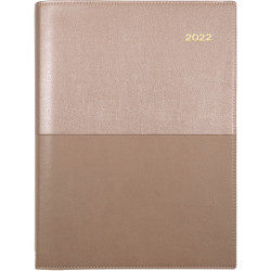 Collins Vanessa Diary Day To A Page A4 Rose Gold