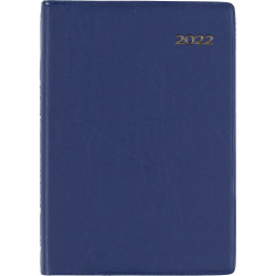 Collins Belmont Pocket Diary 2 Days To A Page A7 Navy
