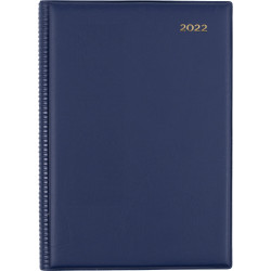 Collins Belmont Pocket Diary 2 Days To A Page A5 Navy