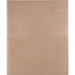 Collins Vanessa Diary Week To View Quarto Rose Gold
