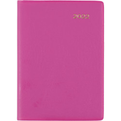 Collins Belmont Colours Diary Week To View A7 Pink