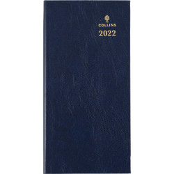 Collins Sterling Diary Week To View B6/7 Navy