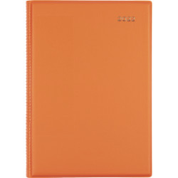 Collins Belmont Colours Diary Week To View A5 Red