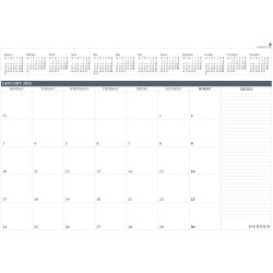 Debden Table Top Planner Refill Month To View 370X530mm