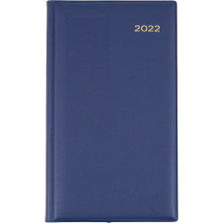 Collins Belmont Diary Day To A Page Octavo Navy