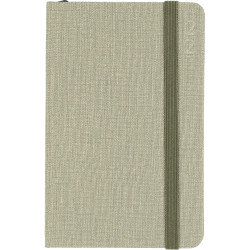 Debden Designer Diary Week To View D36 Textured Fabric Green