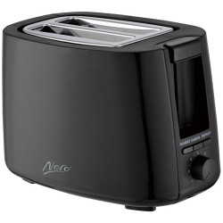 Nero 2 Slice Toaster Black