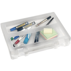 Marbig Plastic Case A4 Clear