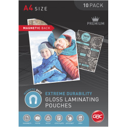 GBC Laminating Pouches A4 175 Micron Magnetic Pouch Pack of 10