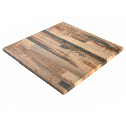 Square Table Top Only For Indoor or Outdoor Use Size 600Wx600Dmm Rustic Kansas