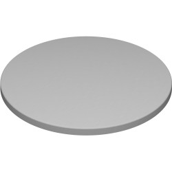 Round Table Top Only For Indoor or Outdoor Use Size 600Dmm Stratos Finish