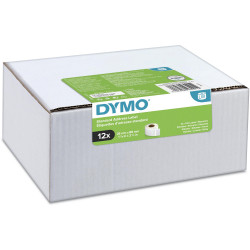 Dymo Labelwriter Labels Standard Address 28x89mm Pack of 12