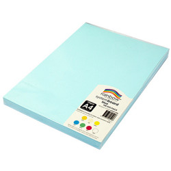 Rainbow System Board A4 150gsm Blue Pack of 100
