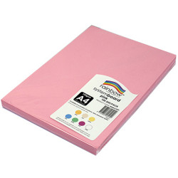 Rainbow System Board A4 150gsm Pink Pack of 100