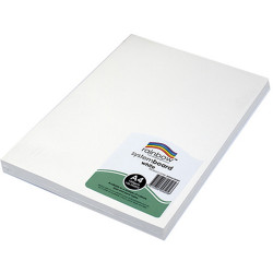 Rainbow System Board A4 150gsm White Pack of 100