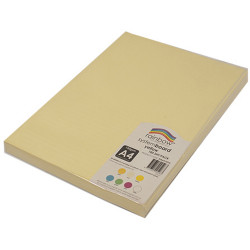 Rainbow System Board A4 150gsm Yellow Pack of 100