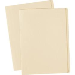 Avery Manilla Folders A4 Buff Box of 100