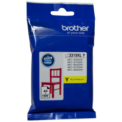 Brother LC3319XLY Ink Cartridge High Yield Yellow