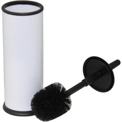 Compass Powder Coated Toilet Brush White