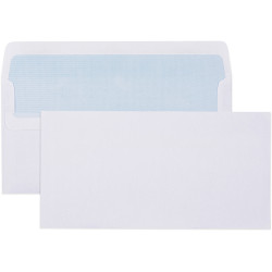 Cumberland Envelope DLX Self Seal Plain Secretive White Box Of 500