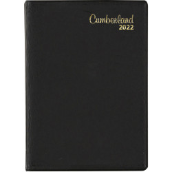 Cumberland Pocket Diary Day To Page A7 Black